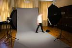 Ylioppilaskamerat | Studion pystytystä Vanhalla